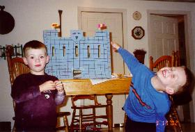 Back in the day, I could make castles out of empty boxes.