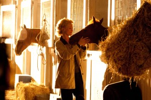 "Diane Lane in Disney's ""Secretariat."""