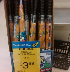 Dubble Bubble gumball bats