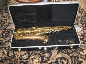 Dead saxophone
